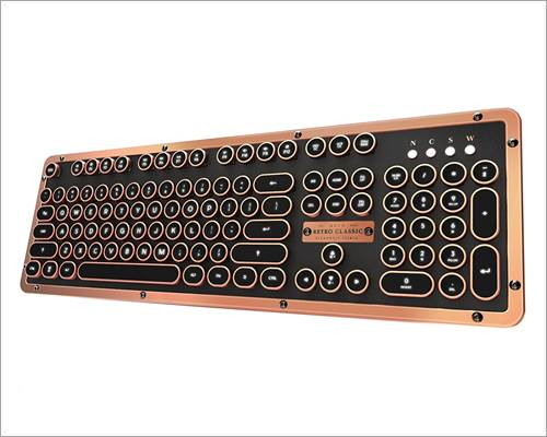 Azio Artisan Bluetooth keyboard for MacBook Pro