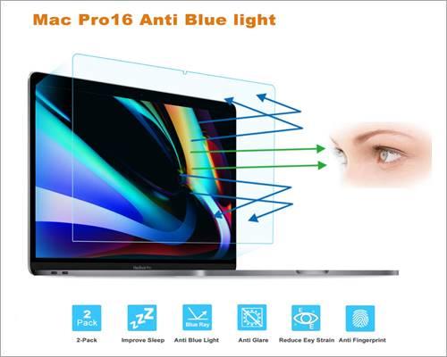 FORITO 2-Pack Compatible MacBook Pro 16-Inch Screen Protector