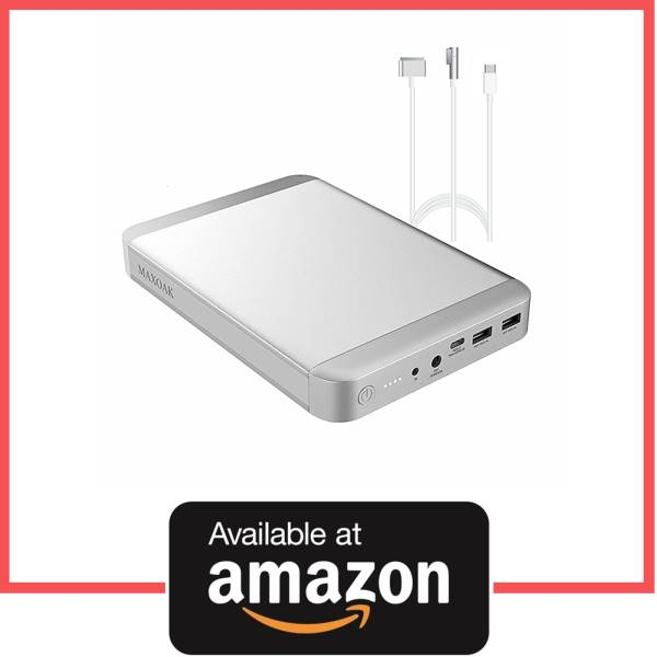 MAXOAK 36000 mAh Type C Power Bank for Apple MacBook Pro Air