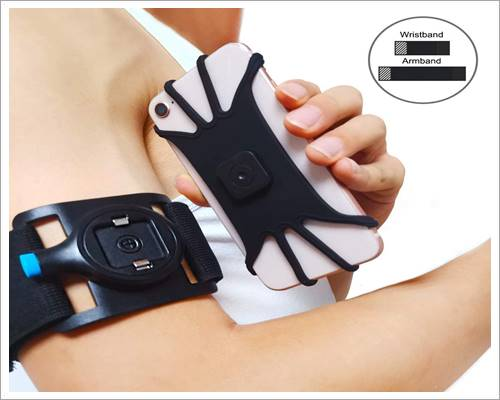 SPORTLINK Detachable Running Armband for iPhone SE 2