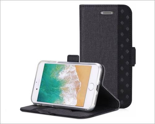 ProCase iPhone SE 2020 Wallet Folio Case