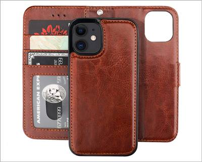 Bocasal iPhone 12 Pro Max Wallet Case