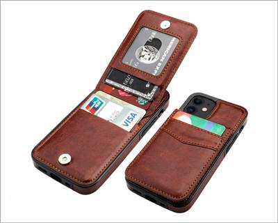 KIHUWEY iPhone 12 Mini Case Wallet