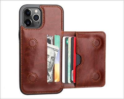 KIHUWEY iPhone 12 Pro Max Wallet Case