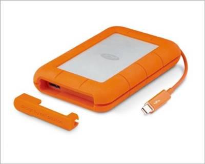 LaCie Rugged USB-C External Hard Drive For MacBook Air