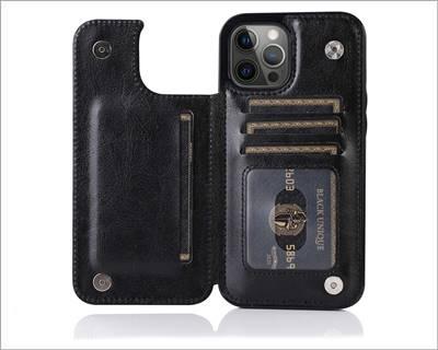 SUTENI iPhone 12 Mini Wallet Case