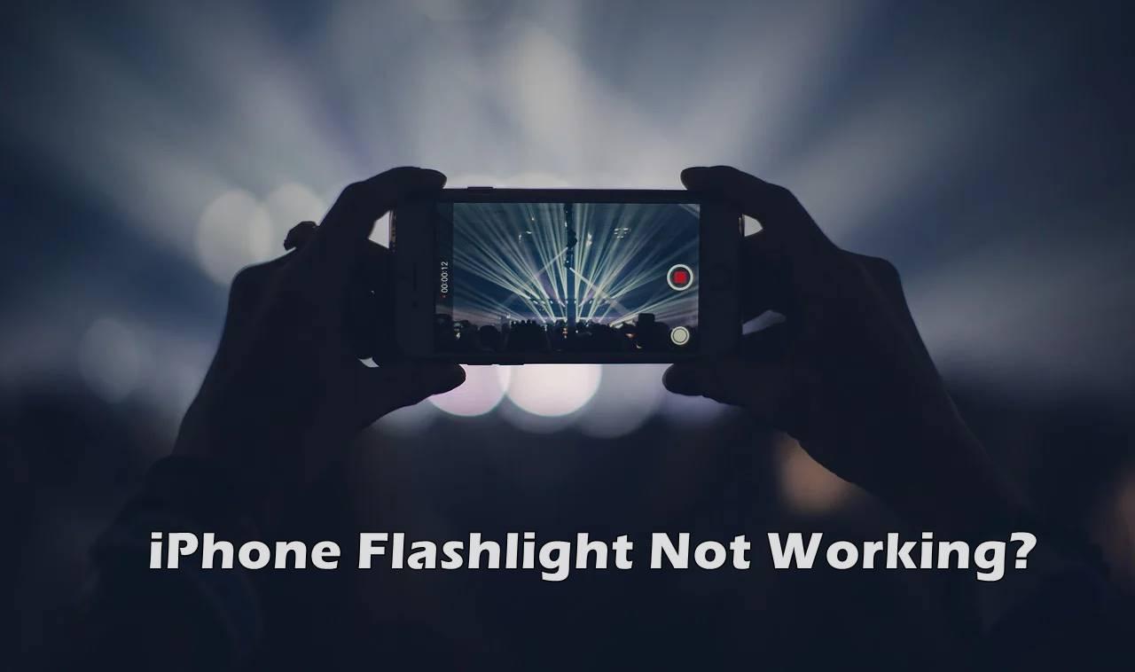 fix iphone flashlight not working