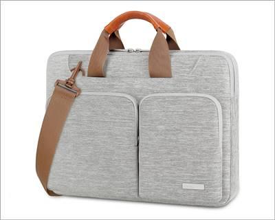 Lacdo 360° Protective Laptop Shoulder Bag