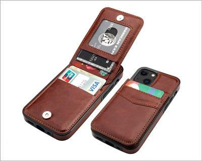 KIHUWEY iPhone 13 Mini Wallet Case