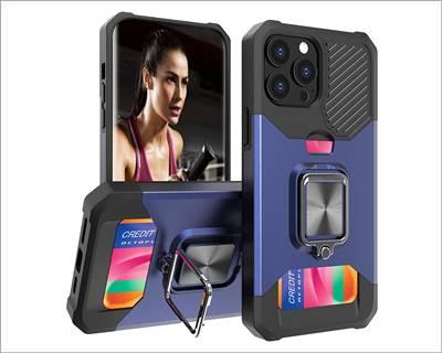 Sheyee Wallet Case Designed for iPhone 13 Pro