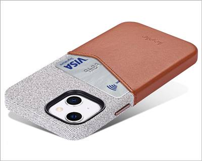 Lopie iPhone 13 Mini Leather Card Case